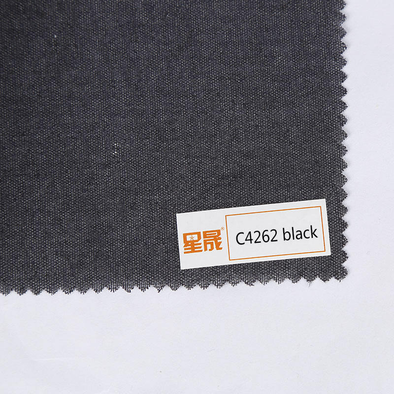 hard woven fusible shirt collar interlining manufacturing company for apparel