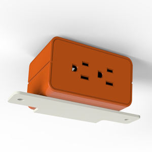 USA standard 110v AC universal power cube socket