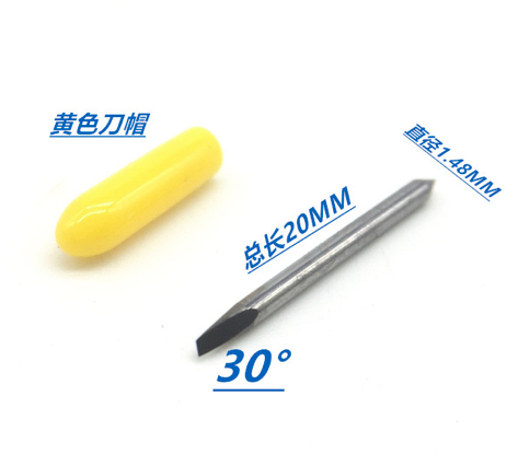 30/45/60 degree AAA grade Imported carbide Vinyl plotter cutter Cemented Carbide Mimaki Cutting Plotter Blades