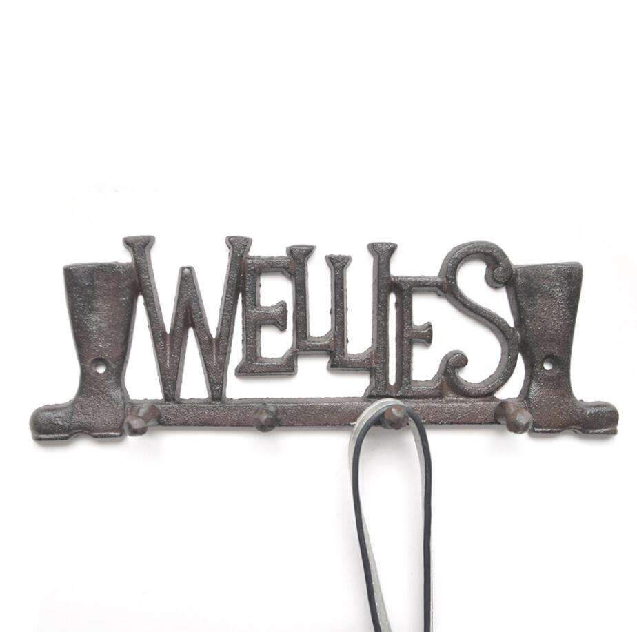Boots Letters Mould Wall Mounted Hooks
