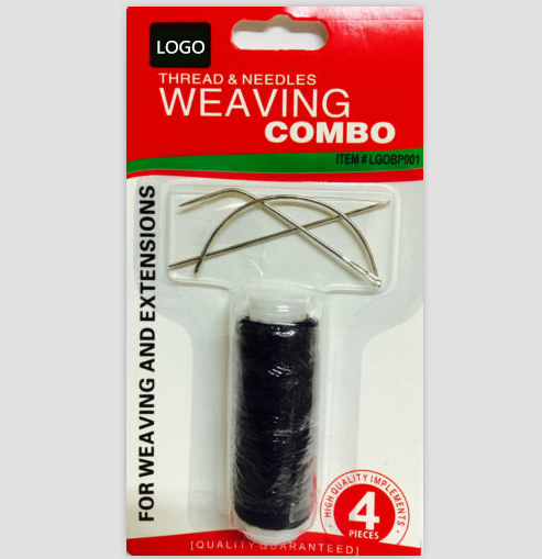 Weaving Combo Weaving Needles And Thread For Hair