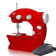 Zogifts Wholesale Colorful Portable Manual Mini Handheld Sewing Machine