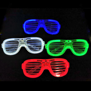 Gafas LED brillantes de 4 colores
