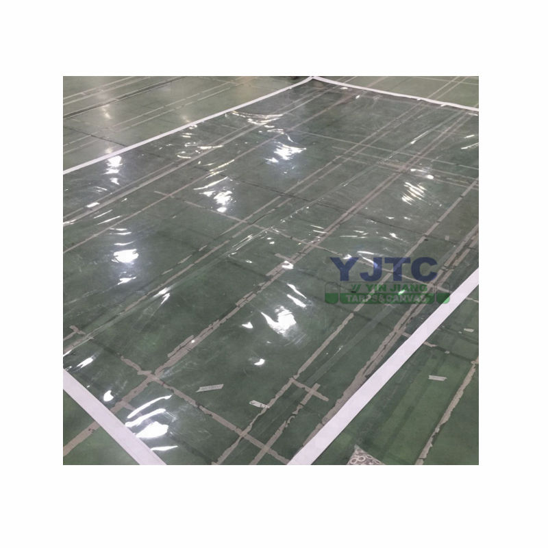Transparante Pvc Zeildoek, Super Clear Pvc Stof