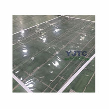 Transparent pvc tarpaulin, super clear pvc fabric