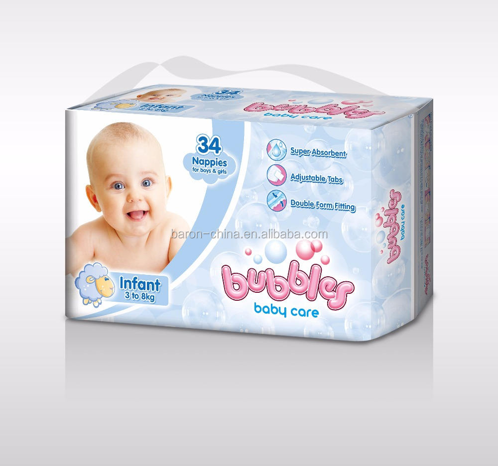 hot sell baby products ultra thick baby diaper from china