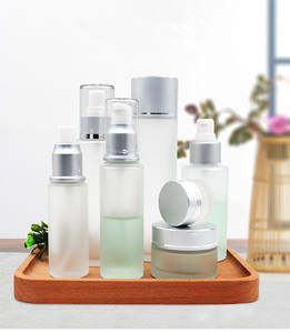 china design empty environmentally friendly cosmetic cream packaging bottle set