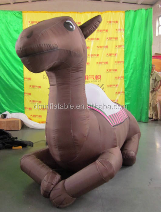 Gigante gonfiabile replica/inflatabel animale cammello/divertente Gonfiabile cammello