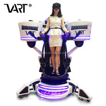 Factory price VART virtual reality vr simulator flight simulator for sale with real fun games