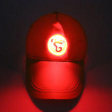 Factory promotion cheap cap custom logo light up man led hat