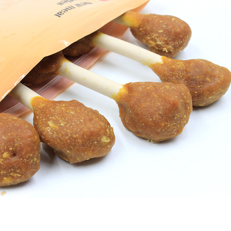 Healthy lamb roll stick good dog food