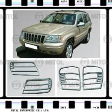 Chrome Head Light Rim For Jeep GRAND CHEROKEE, Auto Accessories