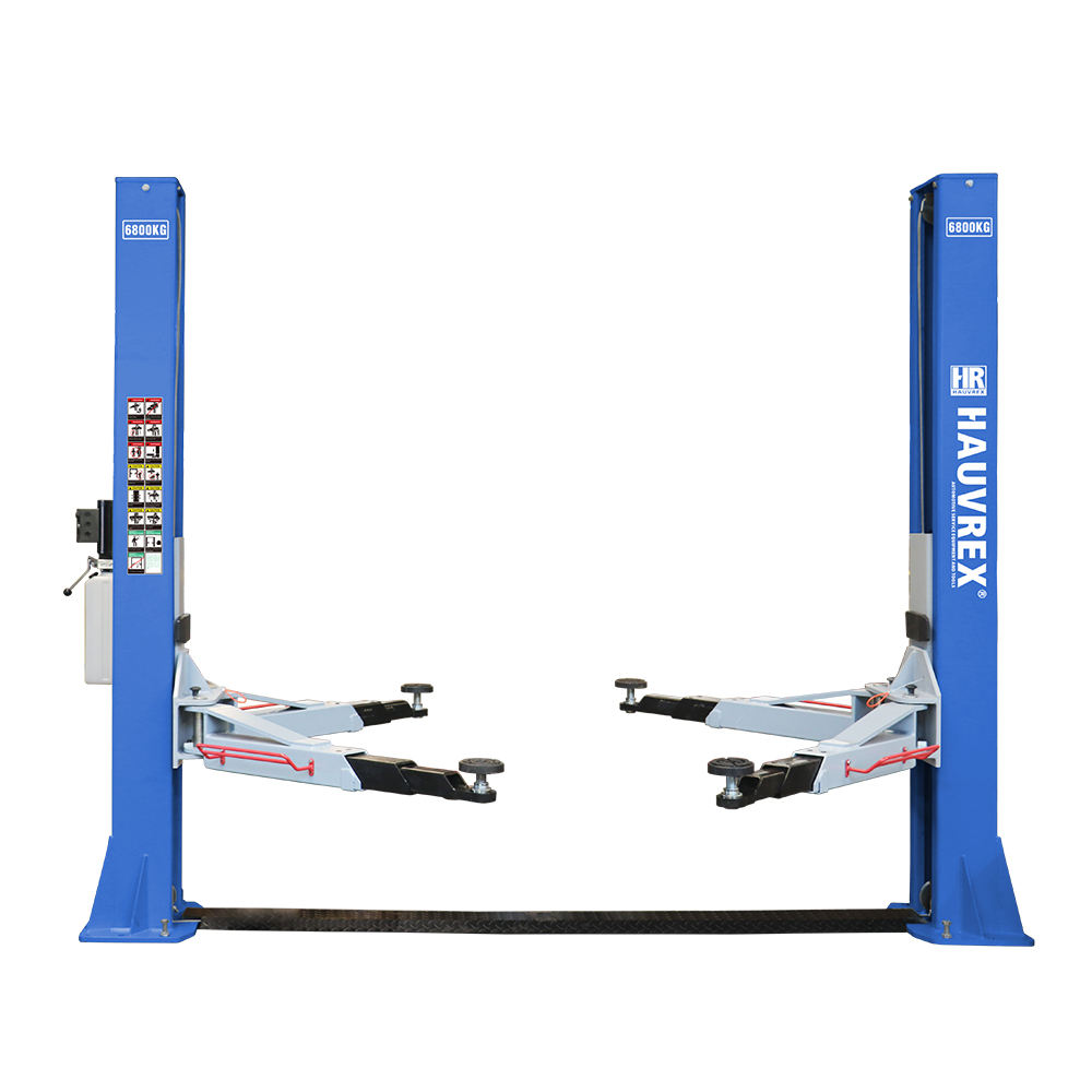HTL2168 15000lbs 2 post auto lift manual lock release two-post vehicle lift