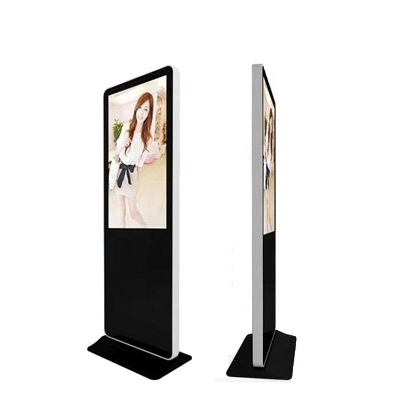 New design 49inch AD media LCD player facility advertising display equipment