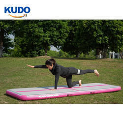 Highest Quality Provide Different Sizes 8M 6M Gym Mat Tumble Inflatable Gymnastics Air Track