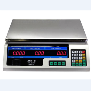 2020 TS-802 40KG Electronic Digital And Stainless Steel Tabletop Scale