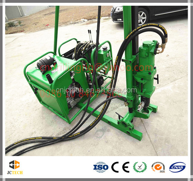 Low Cost Hydraulic Small Portable Anchor Drill Equipment for sale