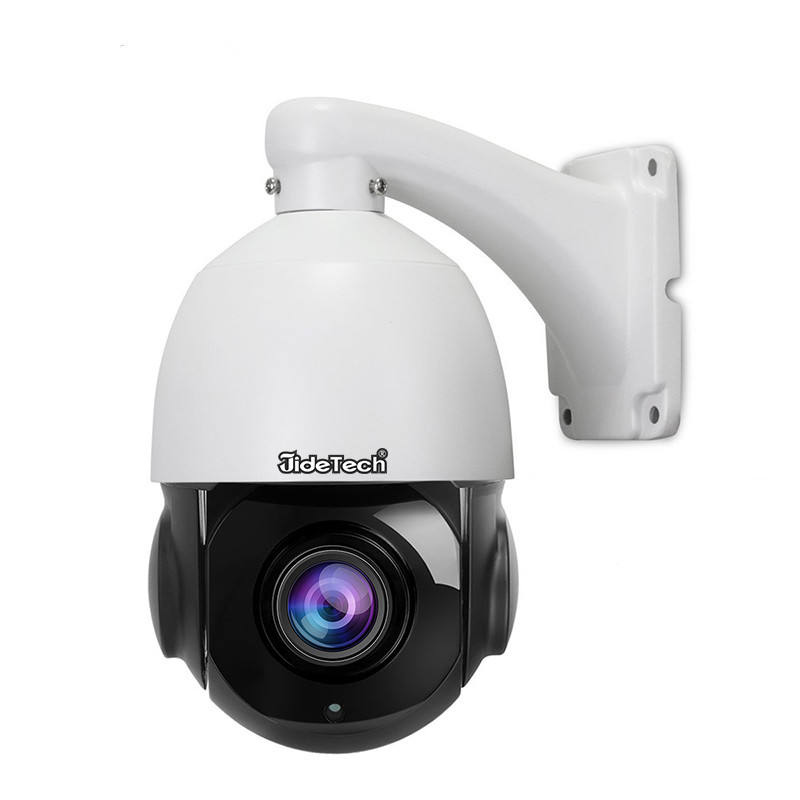 JideTech 5MP Outdoor Speed Dome CCTV Camera Security Surveillance IP POE PTZ Dome Camera