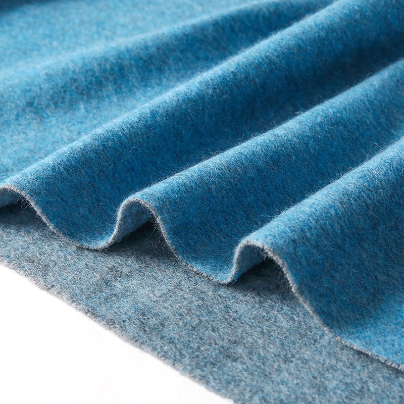 100% machine washable wool fabrics Merino wool 260g interlock fabric