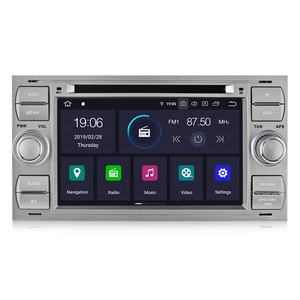 MEKEDE 4 core PX30 Android 9.0 2din car dvd player Cho Ford Tập Trung 2 Mondeo S C Max Fiesta Galax với IPS DSP VIDEO OUT 2 + 16 GB GPS