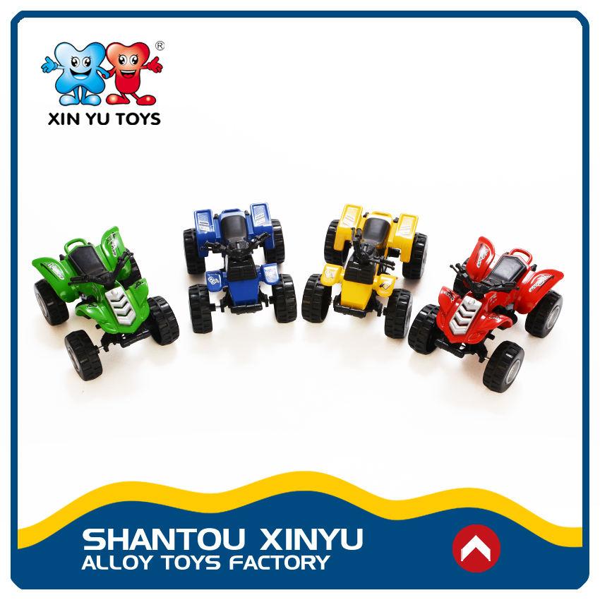 Shantou pequeno puxar para trás brinquedo escala diecast motocicleta modelo de metal para as crianças