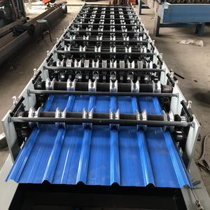 Roofing Roll Forming Machine Cold Roll Forming Machine Metal Roofing Sheet Corrugating Iron Sheet Roll Forming Making Machine Cold Galvanizing Line