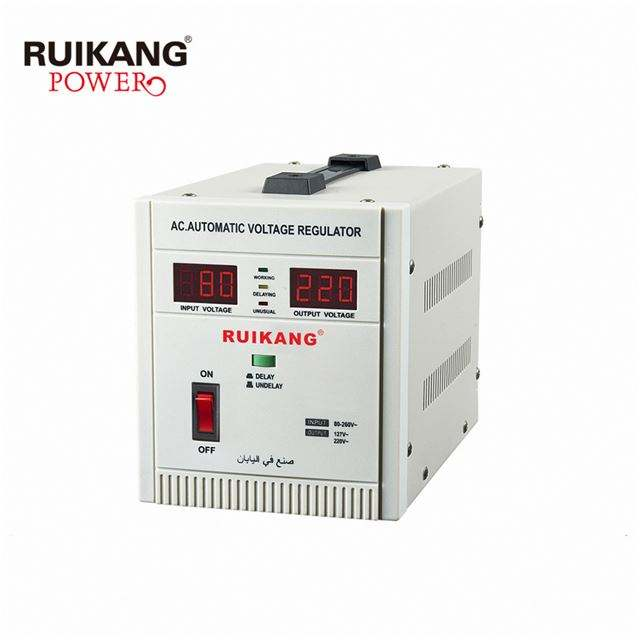Tes 4000 W Power Supply Steplizer Voltage Regulator untuk Mesin Cuci