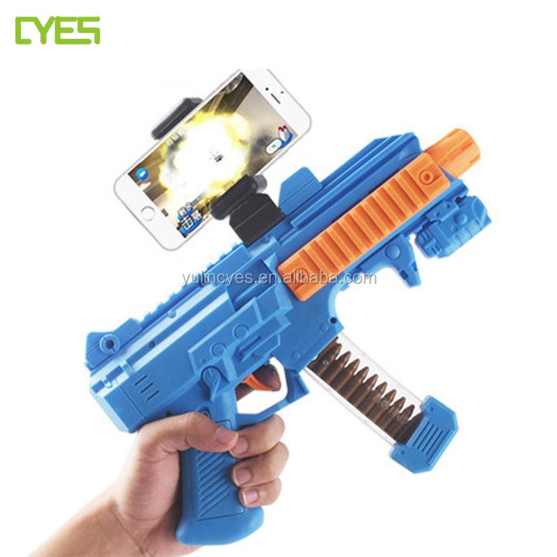 Heißer Verkauf 3D Körpergefühl Intelligenz Ar Pistol Controller Bluetooth Vr Gun Spiel Spielzeug
