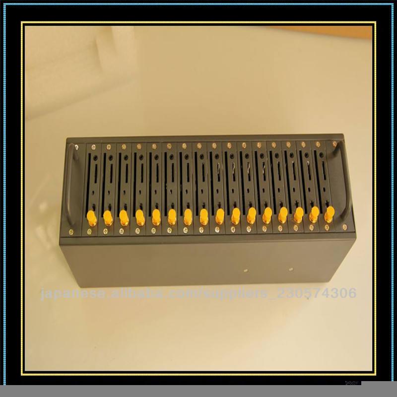 Gprsモデムsmsの送信/コールを作るマルチ- ハイテク16gsmモデムプール