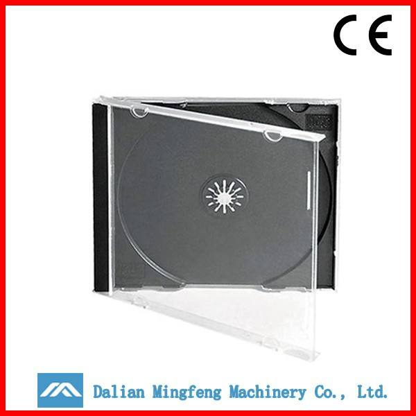 OEM high-quality clear black hard plastic light disk cd dvd case