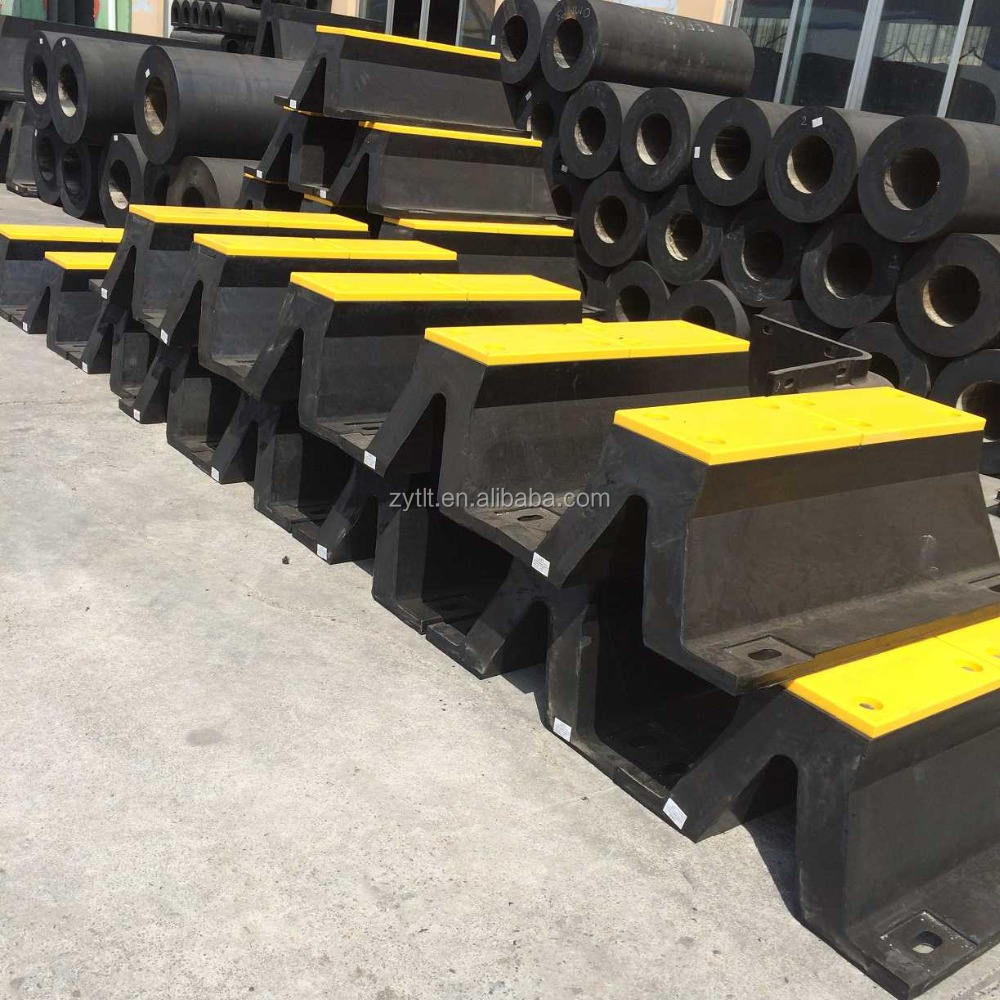 BF arch type rubber buffer