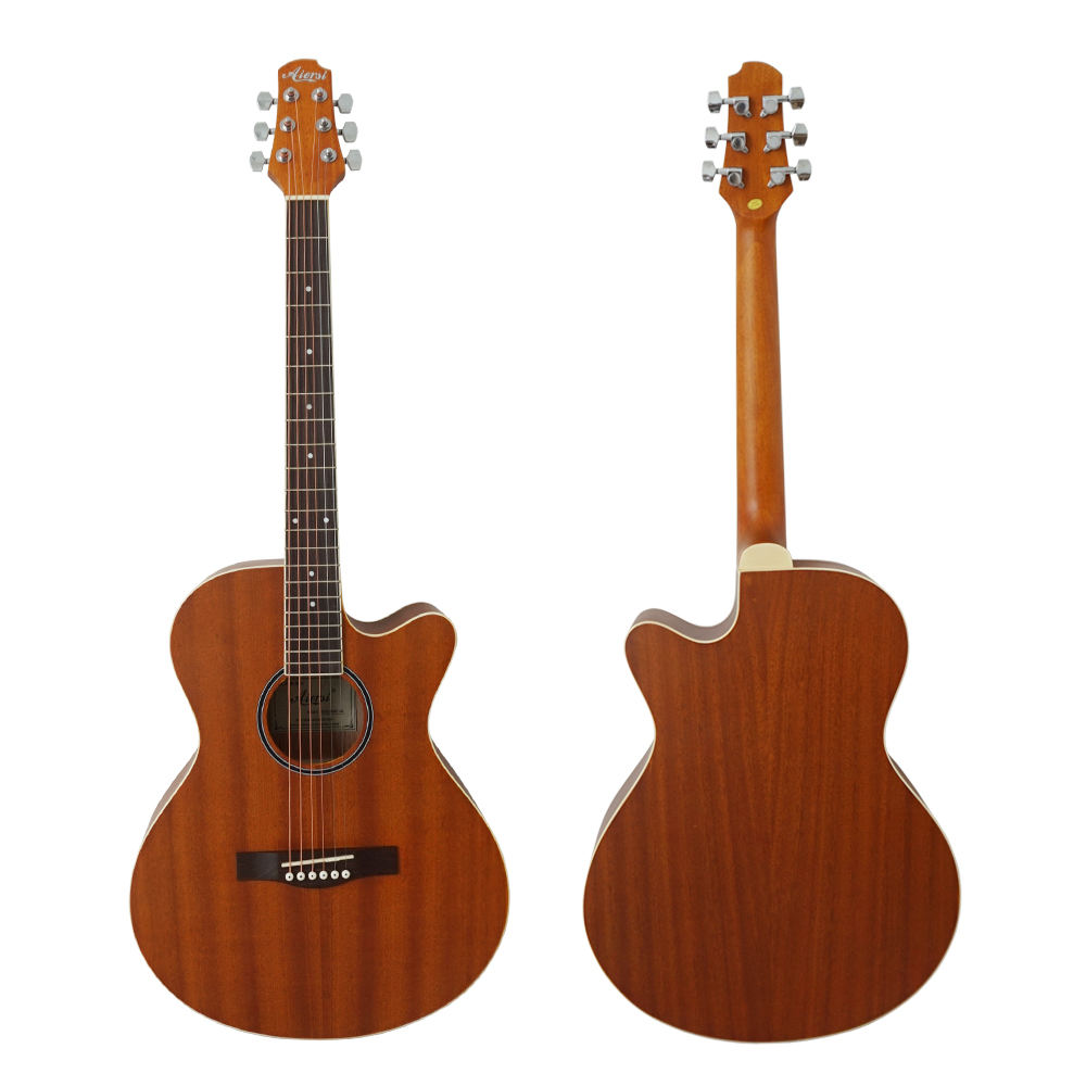 Best quality left-hand acoustic guitar China manufacturer