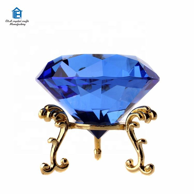 wholesale k9 glass diamond for paty decorative home&office decor birthday wedding party gifts crystal diamond