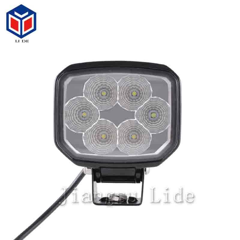 Hot sale For Auto offroad Jeep Rectangle Shape 60W 4inch Spot Beam 12v LED Work light