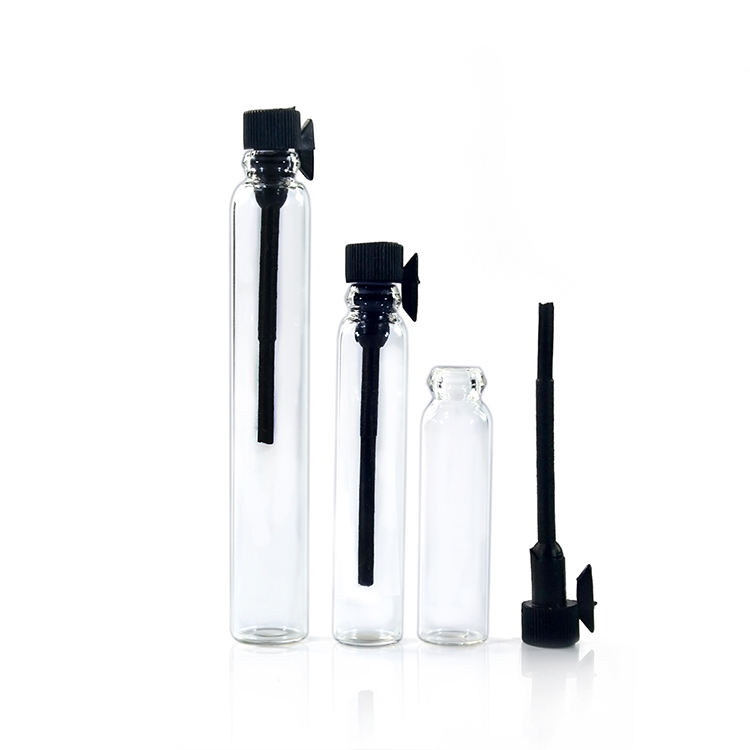 Big sale clear 1ml 2ml 3ml cosmetic glass spray perfume bottle for sample