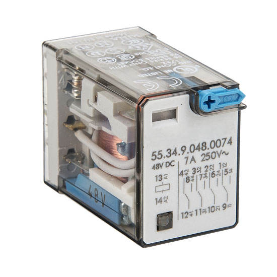 Single Pole Double Throw Contacts 21.6 mA Rated Load Current Diode Type Omron G2R-1-SD DC24 General Purpose Relay 24 VDC Rated Load Voltage S Plug-In Terminal