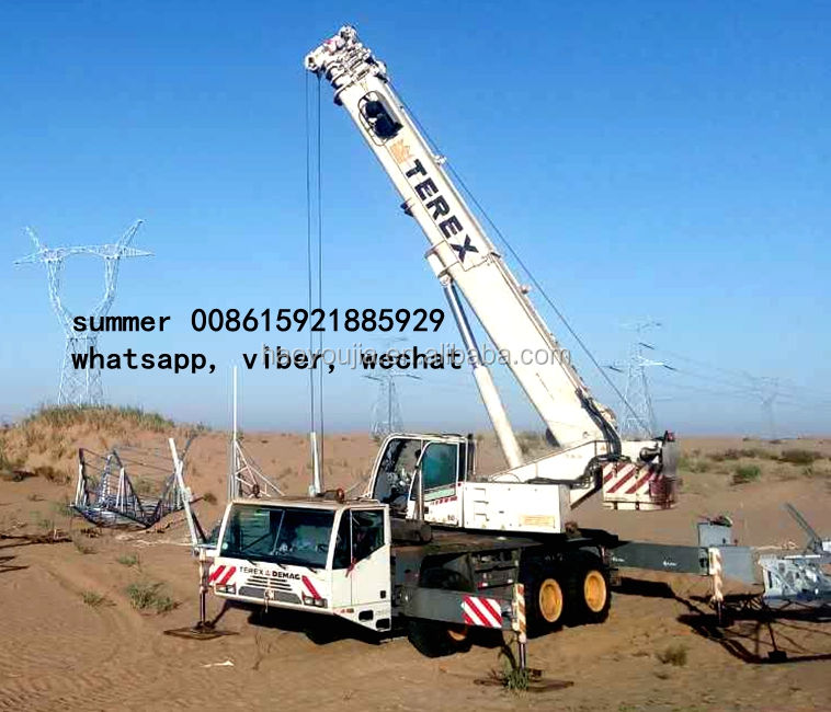 Terex demag crane for sale in trung quốc