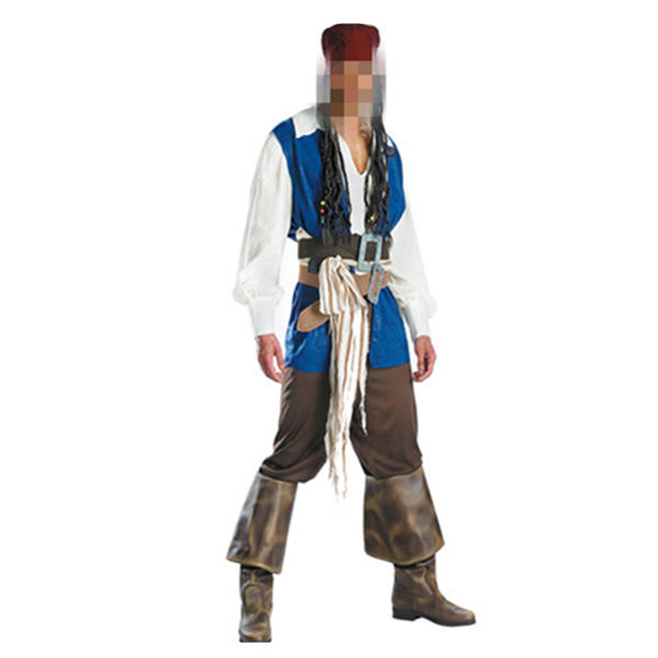 Chine gros Hommes Des Caraïbes Capitaine Jack Pirate Déguisements Stag Party Costume