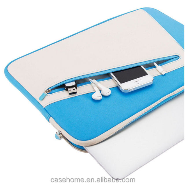 YKK zipper bag for macbook air sleeve bag