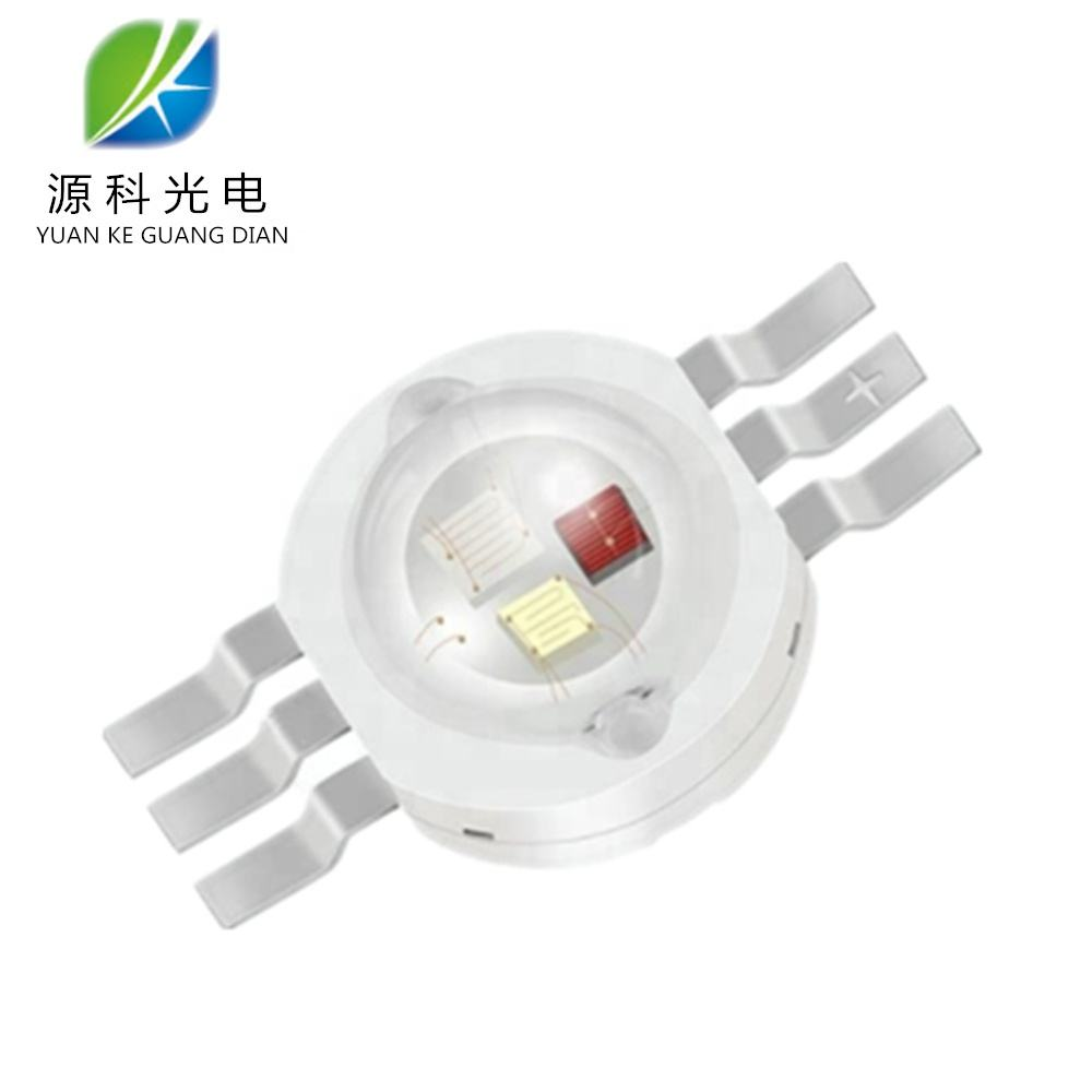 YUANKE High Efficiency High Power LED Epileds Chip 6-PINS 3w 6w Tri-Color RGB 3 in1 datasheet