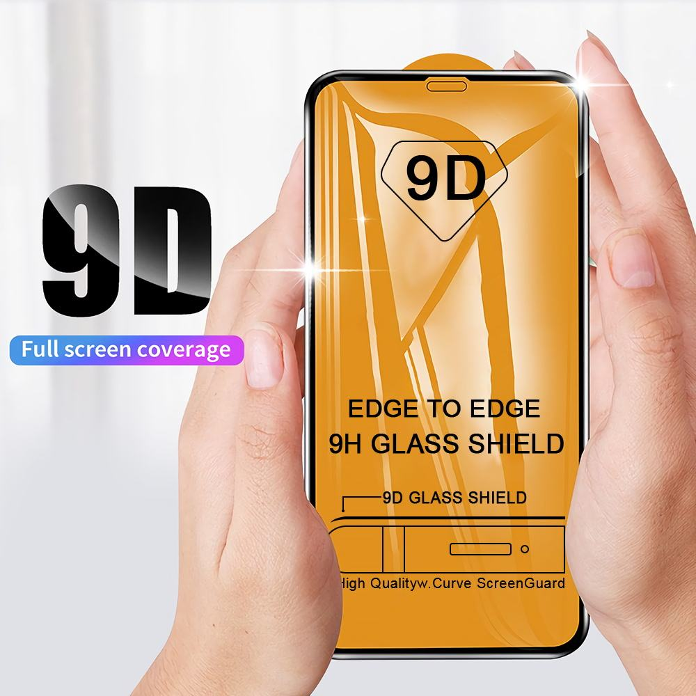 9D Schutz Glas für iPhone 7 Screen Protector iPhone 8 Xr Xs Xs Max Gehärtetem Glas für iPhone X 6 6 s 7 8 Plus Xs Glas