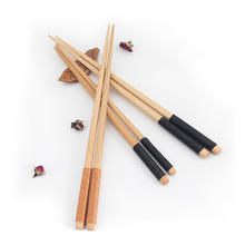 Black Brown wooden chopsticks Wholesale Chinese Style Nature Beech chopsticks Best Quality Children Adult Chopsticks Restau