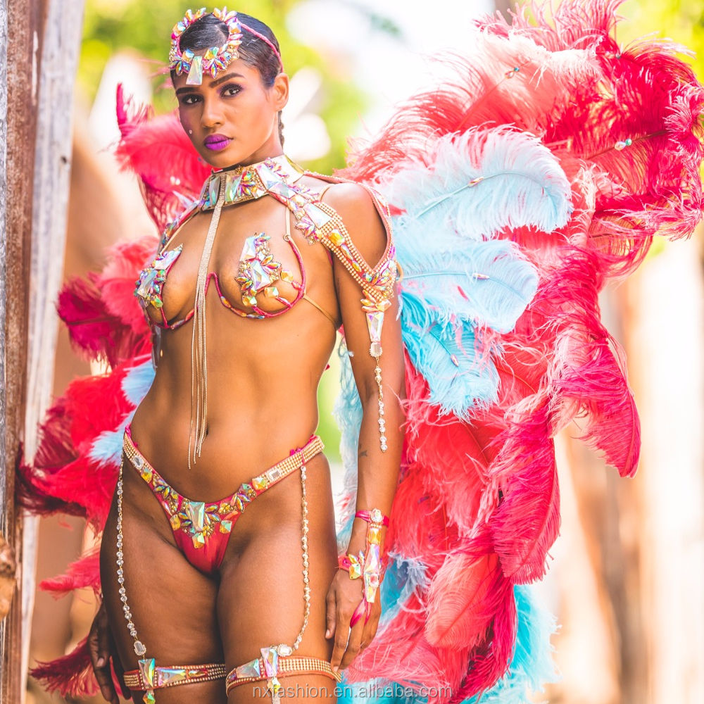 2018 Trinidad sex carnival can be according your requirements to customed woman carnival costum