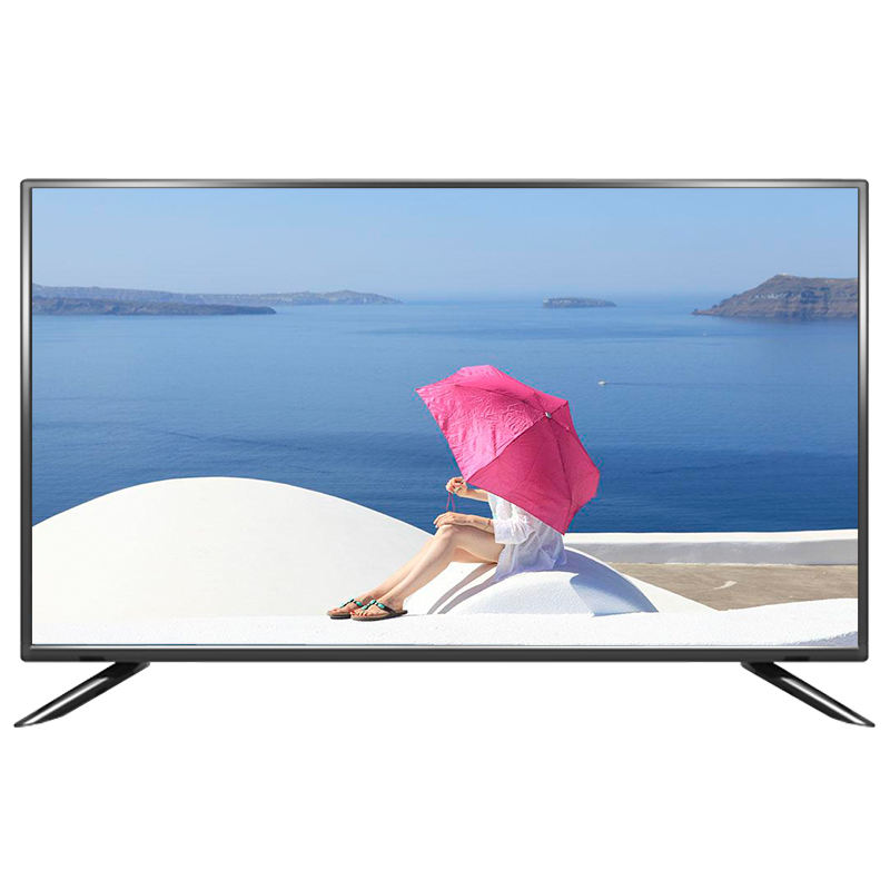 wholesale china 55 inch 4k led tv flat screen smart televisions with wifi