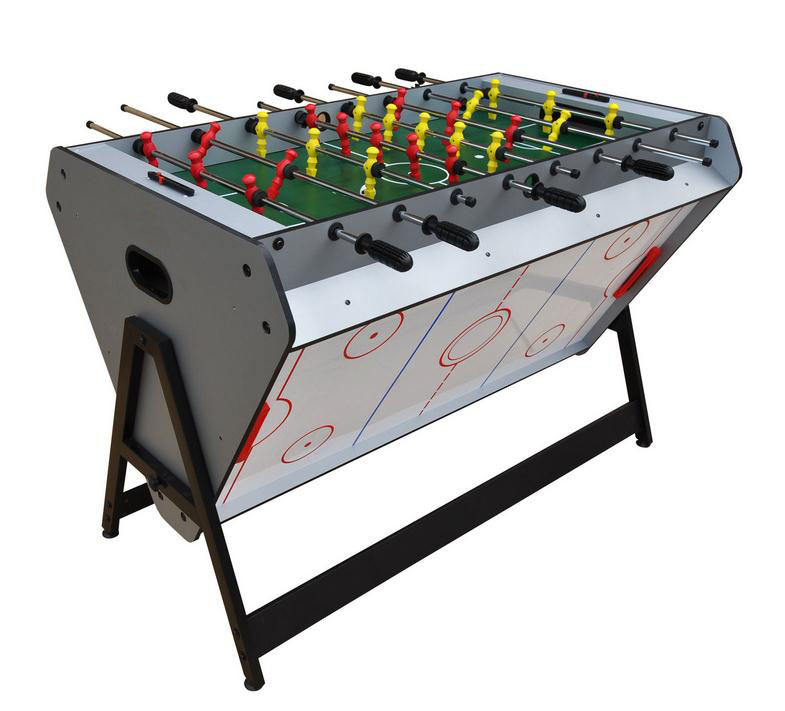 Factory wholesale 3 in 1 multi game tables indoor sports air hockey , soccer , pool table