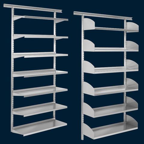Generic Caj/ón con estantes y Escalera de Almacenamiento para Pared con estanter/ía en U
