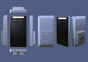 Face Recognition Terminal สำหรับ Turnstile Access Control ระบบ