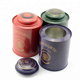 China Metal Can Luxury Tea Tins China Supplier Empty Metal Tea Can For Round Tea Tin Canister Multicolor Tin Box