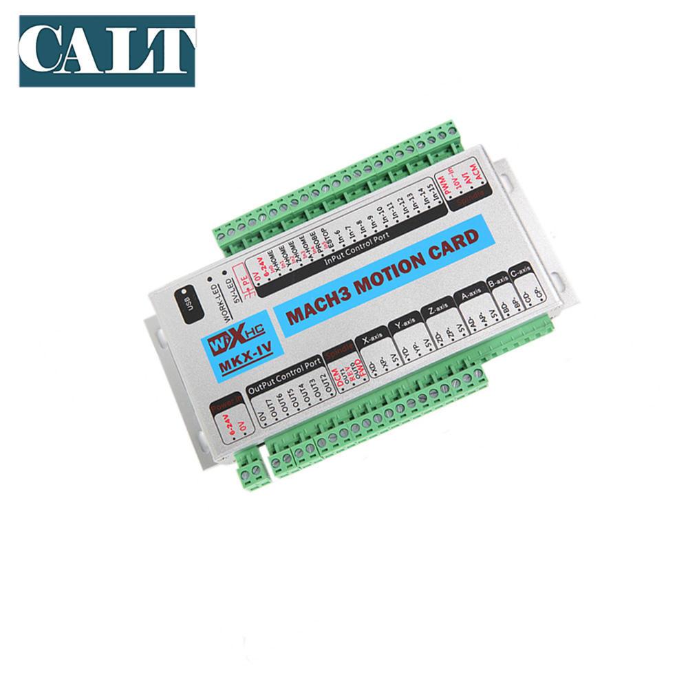 LCD Encoder Handwheel New 1MHz 6 Axis USB CNC Controller MACH3 Ethernet Board