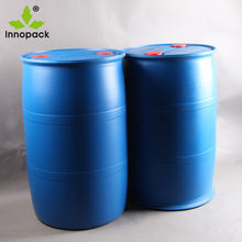 200 Litre Closed head HDPE plastic drum / barrel for water white spirit chemical container